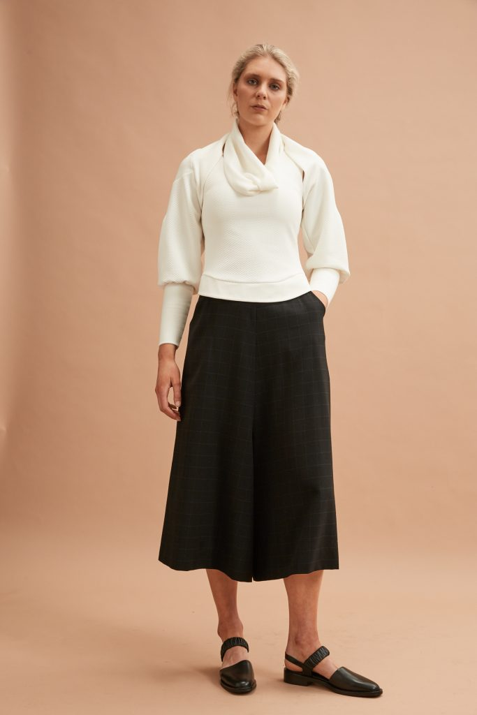 Layered Top and Culottes