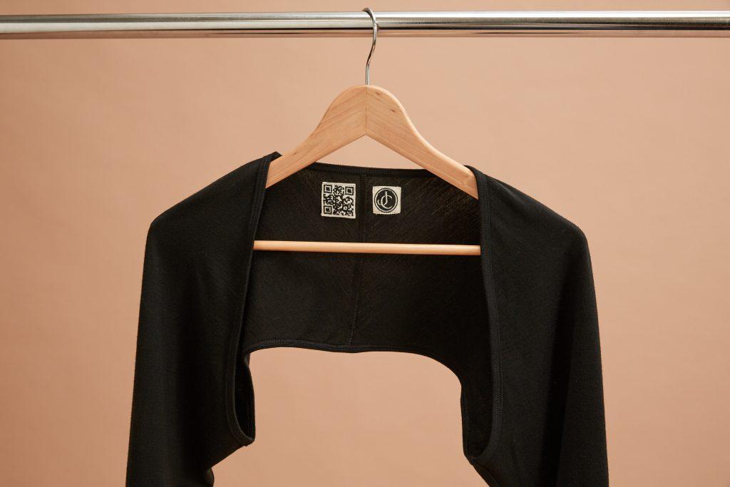 QR code garment labels