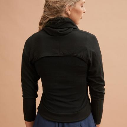 Layered Top in Black back (C)Jo Cramer