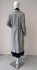 Coat: back view