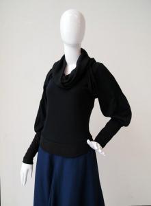 Layered top: alternate sleeve
