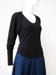 Layered top: basic sleeve