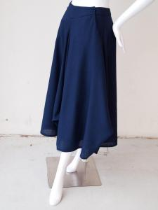 Cowl Skirt: side front